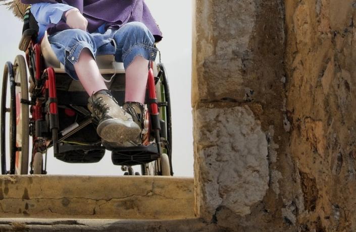 handicap ragazza