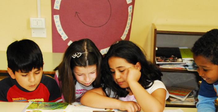 classe multiculturale leggere lettura
