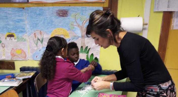 concetta messina insegnante bambini gruppo classe
