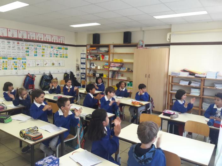 concetta messina gruppo classe applauso