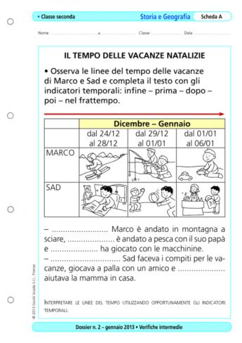 Verifiche Intermedie Storia E Geografia Classe 2 La Vita Scolastica
