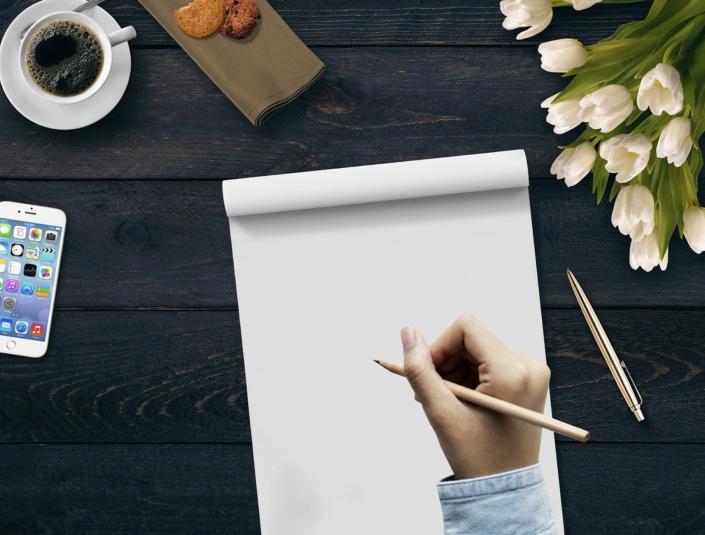 lettera scrittura a mano