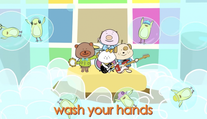 video wash your hands