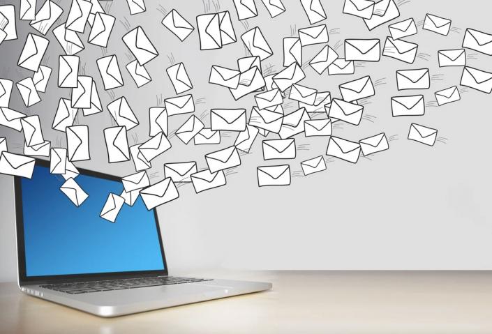 foto email e computer
