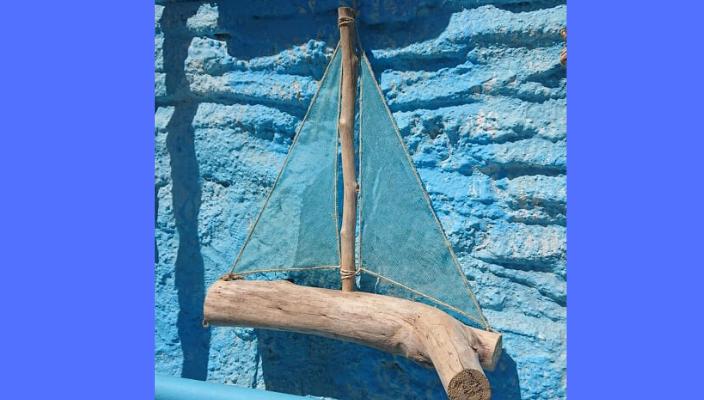 barca legno sesamo graziella favaro