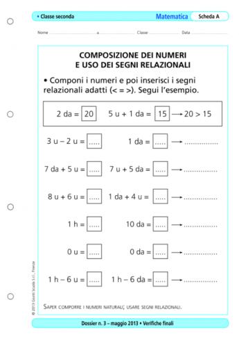 Verifiche Finali Matematica Classe Seconda La Vita Scolastica