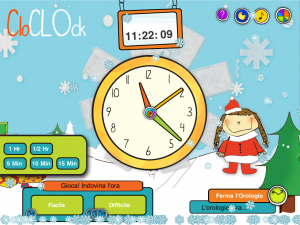 CloClock: uno scenario... natalizio