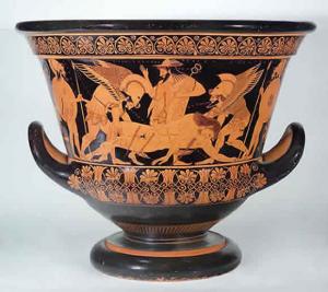 Il vaso di Eufronio (VI sec. a. C.)