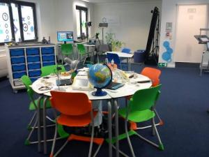 Future Classroom Lab presso la sede di European Schoolnet a Bruxelles