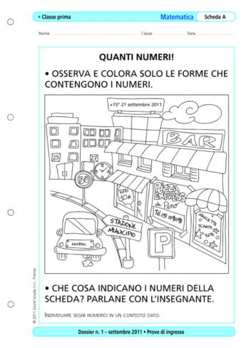 Prove Dingresso Matematica Classe 1 La Vita Scolastica