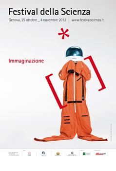 Festilva della scienza 2012, Genova, locandina