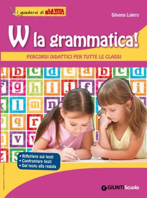 """Copertina """"W la grammatica"""""""